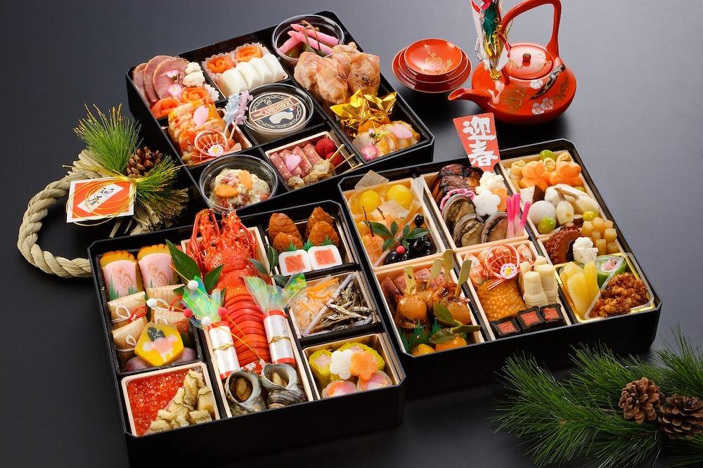 Осэти-рёри что едят в Японии на Новый год