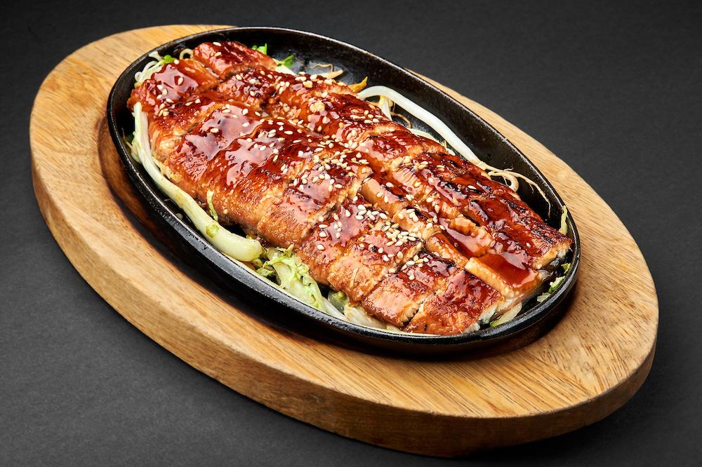 Вкуснейший угорь Унаги кабаяки