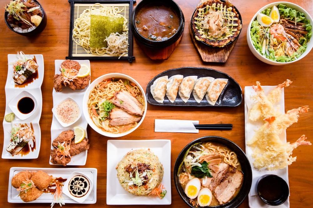 Главные блюда японского стола