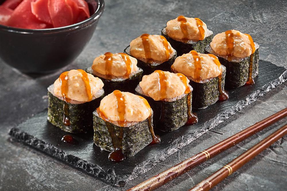 Вкусные запеченные суши - как приготовить