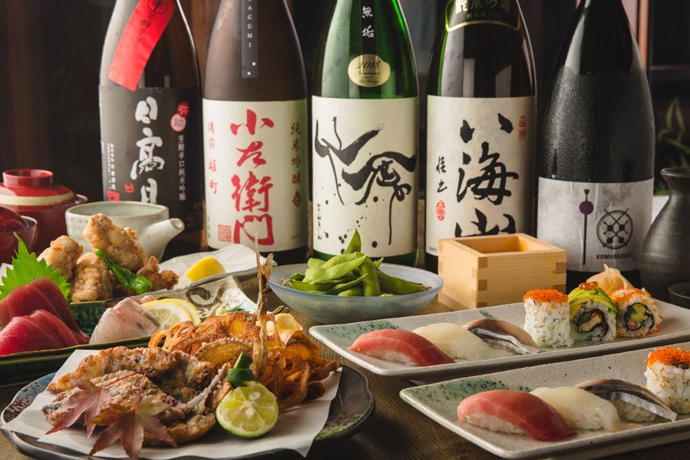 Какие напитки подают к суши