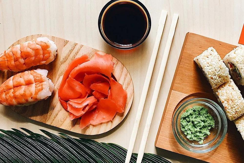 Как правильно есть имбирь с суши