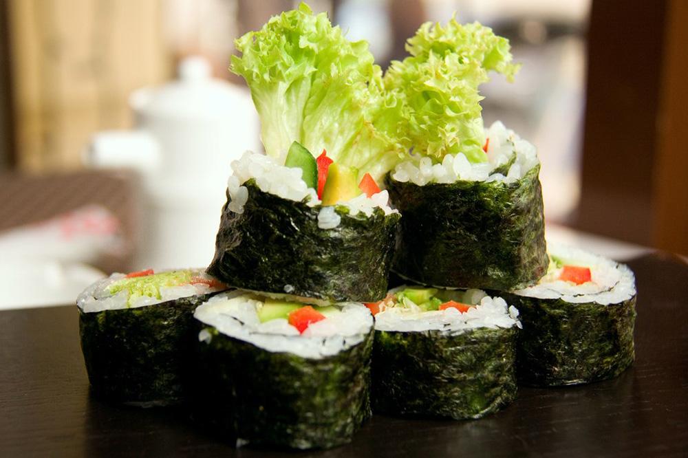 Овощи для роллов и суши
