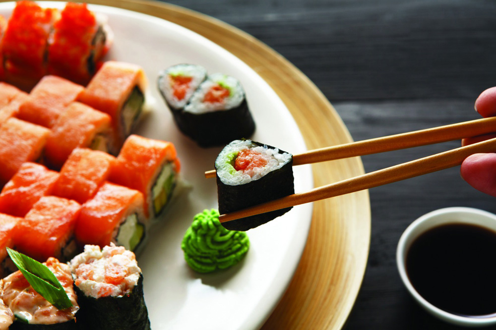 Польза японской кухни