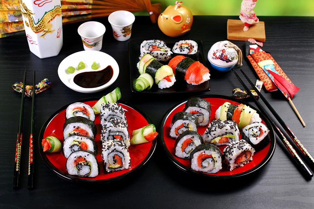 Правила подачи суши и роллов