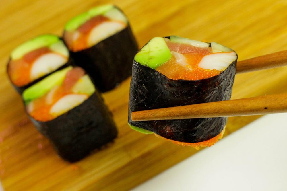 ТОП-3 роллов и суши без риса