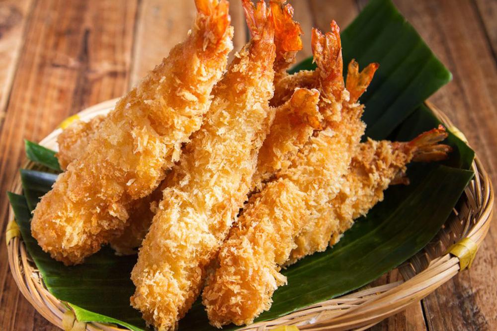 Японское блюдо темпура