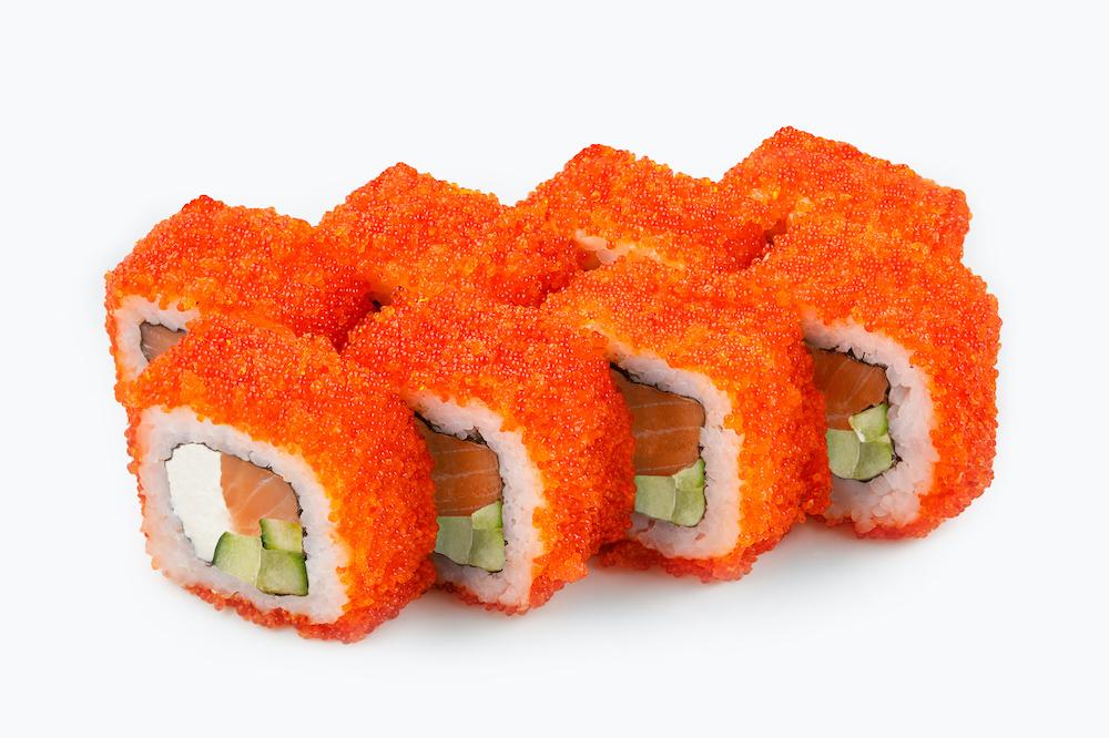 Масаго или тобико. Самые популярные виды икры в японской кухне